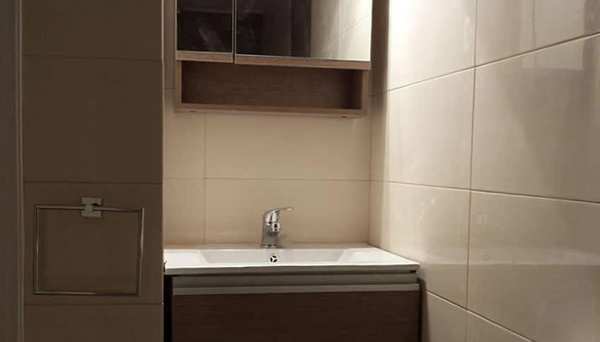 Ανακαίνιση Μπάνιου στο Πολύγωνο