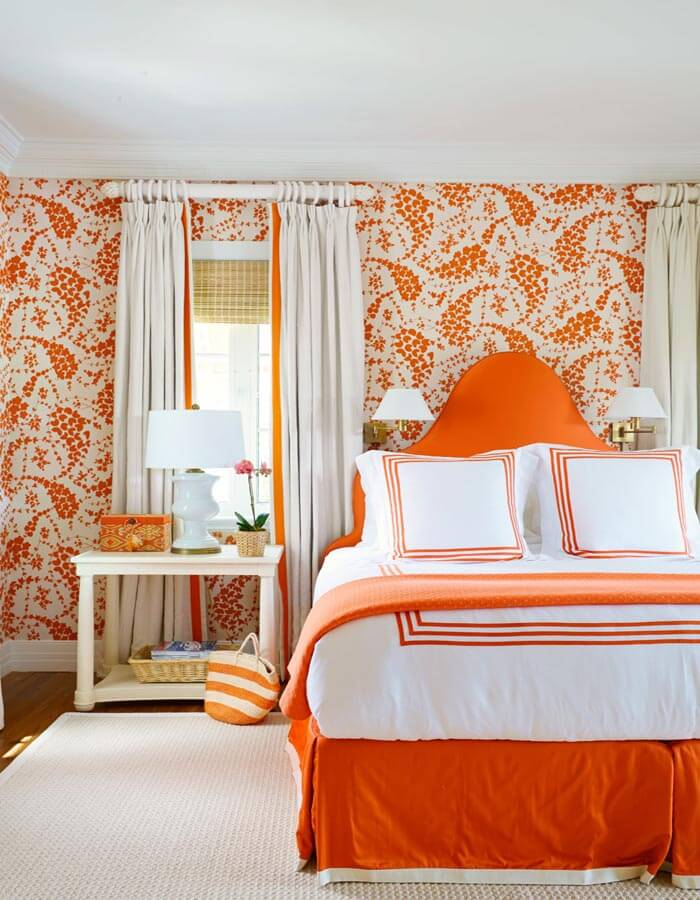 Bedroom Color Ideas Burnt Orange