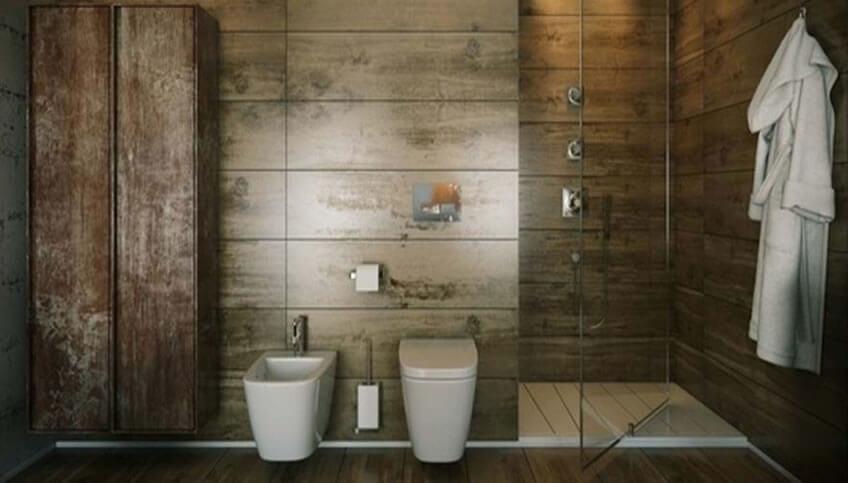 Κρεμαστές Λεκάνες Μπάνιου με Εντοιχισμένο Καζανάκι